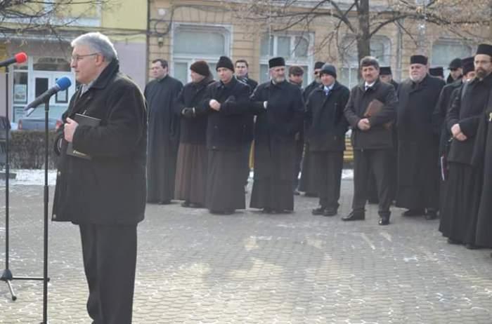 Pastor, Timotei Rusu la Deva (ianuarie 2016) Facebook Petru Mărginean